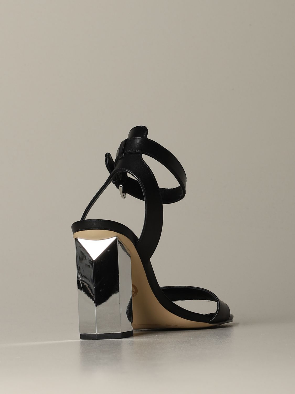 Heeled sandals women Michael Michael Kors black 3