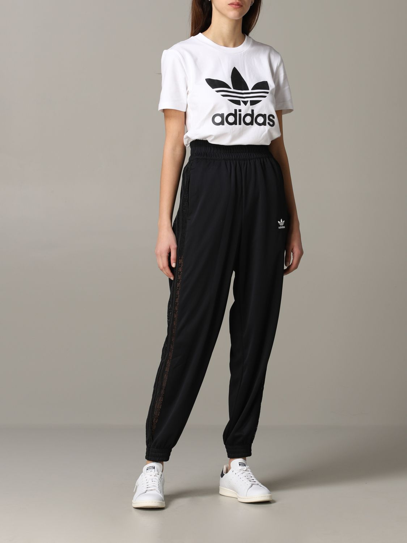 Inicialmente Sudor Temeridad  Pantalón mujer Adidas Originals | Pantalón Adidas Originals Mujer Negro | Pantalón  Adidas Originals FL4125 Giglio ES