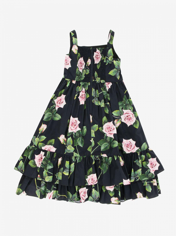 Abito Dolce & Gabbana: Abito Dolce & Gabbana a fantasia floreale rosa 2