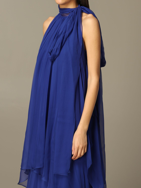 连衣裙 Alberta Ferretti: 连衣裙 女士 Alberta Ferretti 蓝色 3