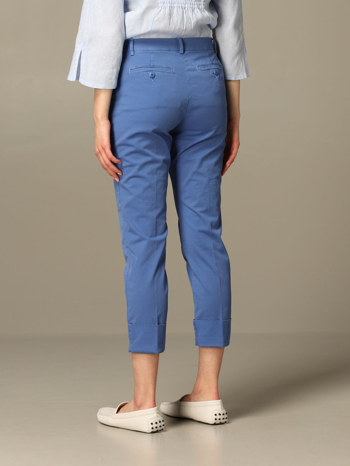 Trousers Closed: Trousers women Closed gnawed blue 2