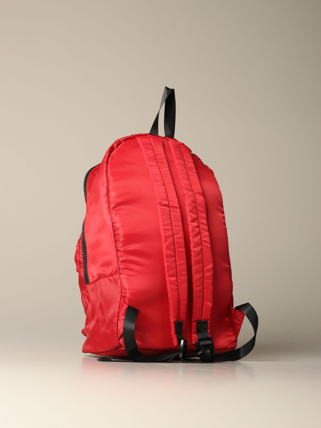 Liu Jo backpack in patterned nylon red 2