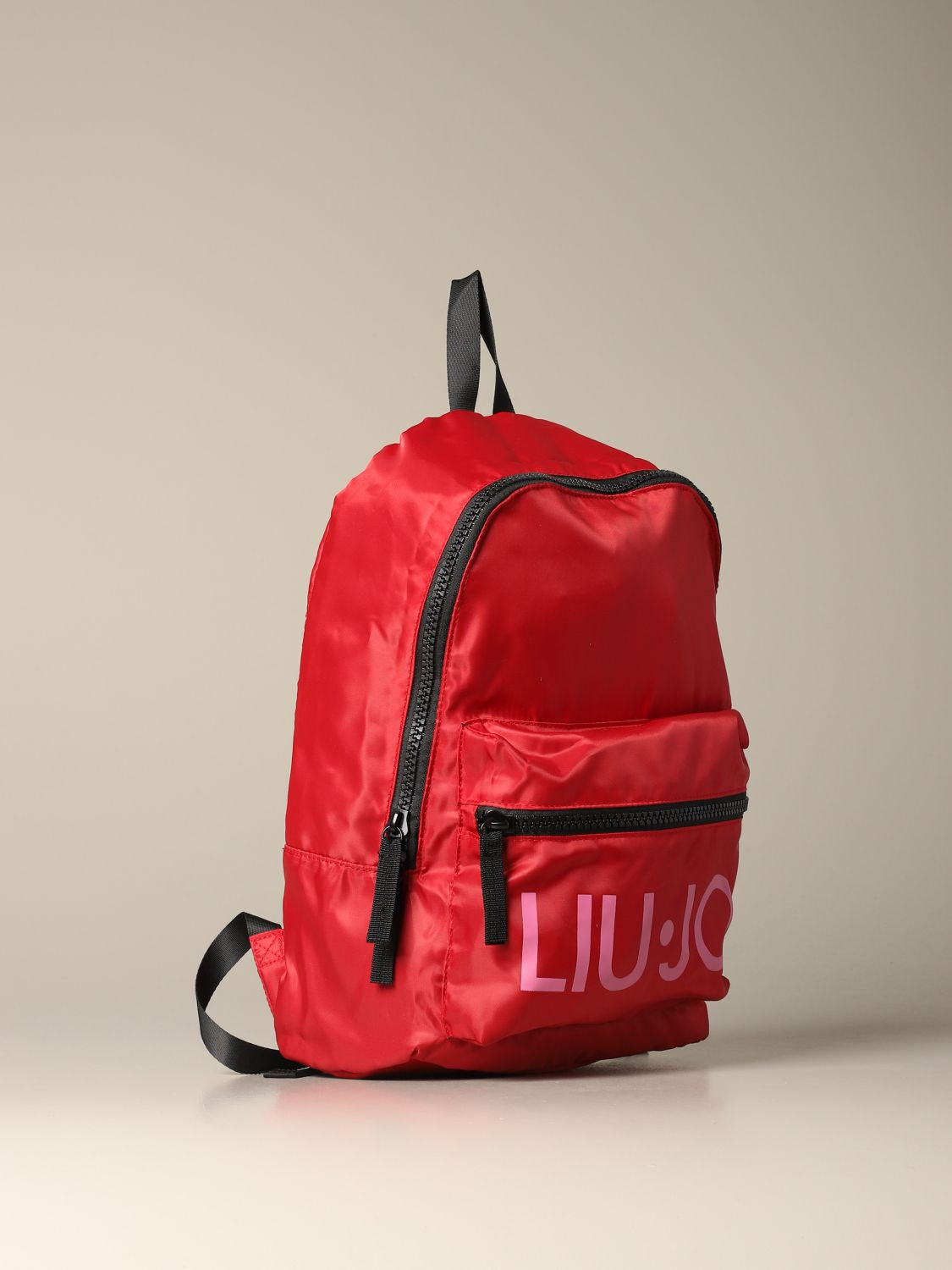 Liu Jo backpack in patterned nylon red 3