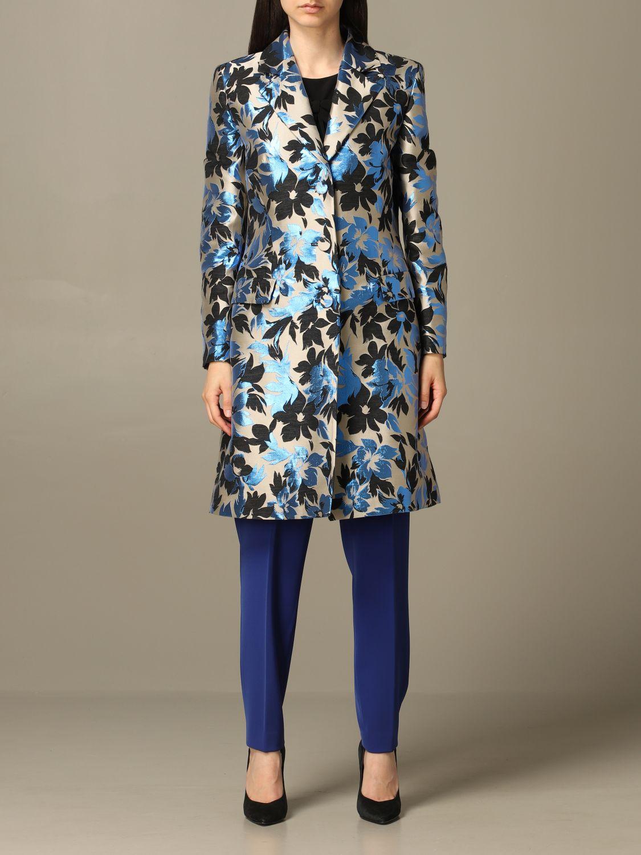 Coat Boutique Moschino: Coat women Boutique Moschino multicolor 1