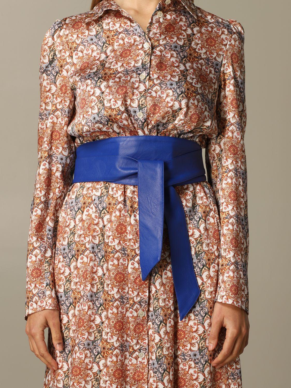 Belt women Federica Tosi blue 1