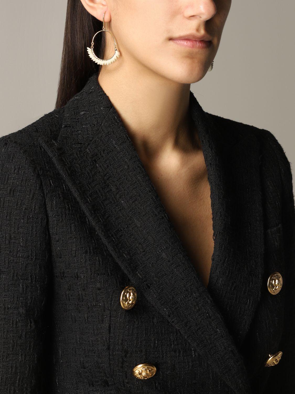 Orecchini Isabel Marant con perline beige 2