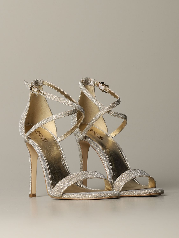 High heel shoes Michael Michael Kors: High heel shoes women Michael Michael Kors gold 2