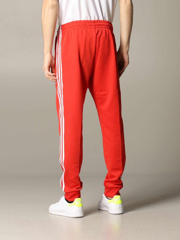 Pantalon de jogging Adidas Originals avec logo rouge 3