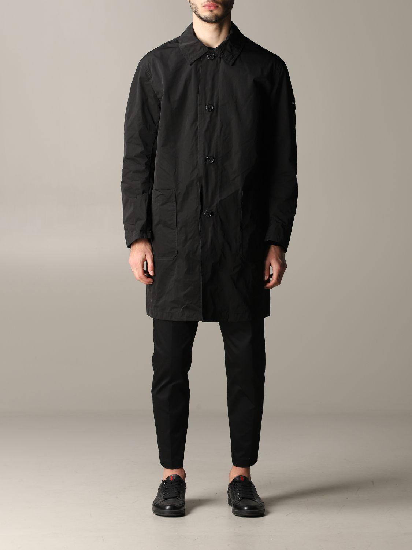 Cappotto Oof Wear a monopetto nero 1