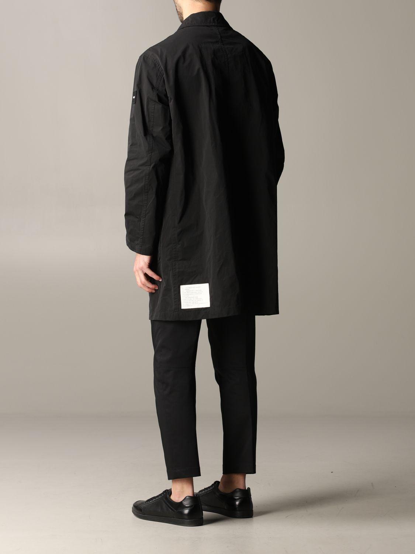 Cappotto Oof Wear a monopetto nero 3