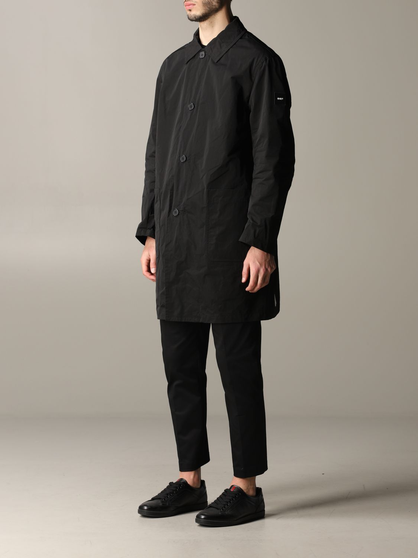 Cappotto Oof Wear a monopetto nero 4