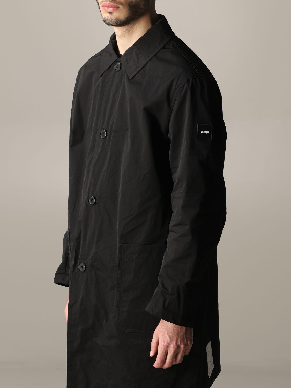 Cappotto Oof Wear a monopetto nero 5