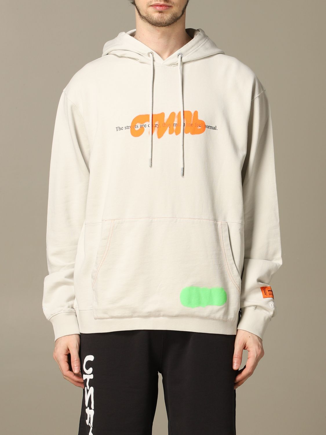 Sweatshirt herren Heron Preston ice 1