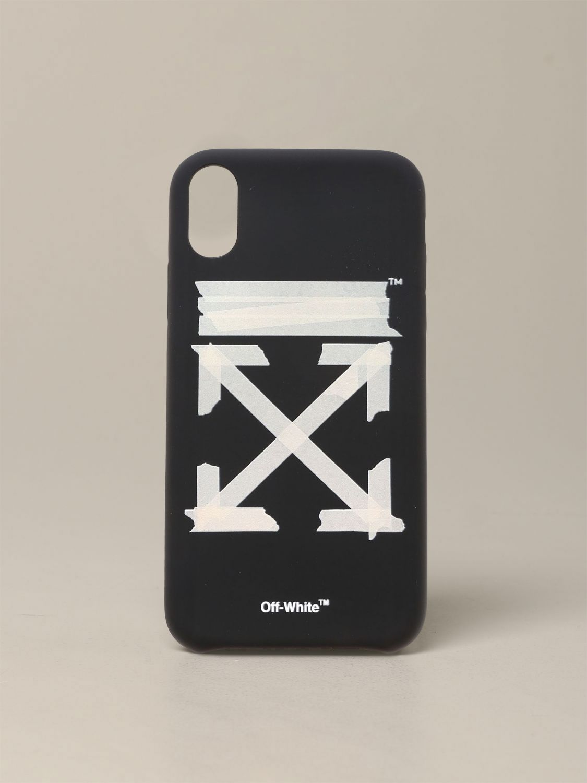 Coque Off White avec logo noir 1