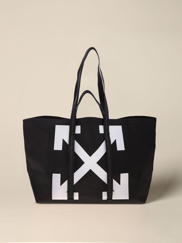Tote bags women Off White black 1