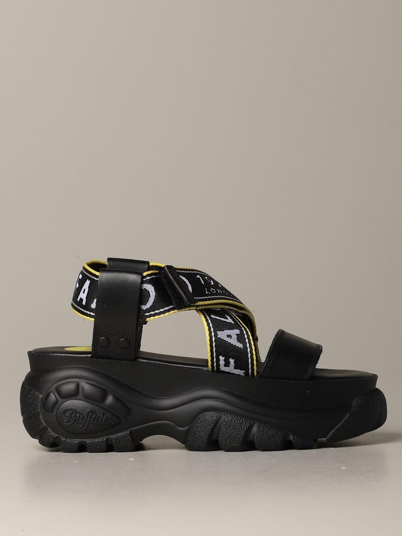 Flat sandals Buffalo: Flat sandals women Buffalo white 1
