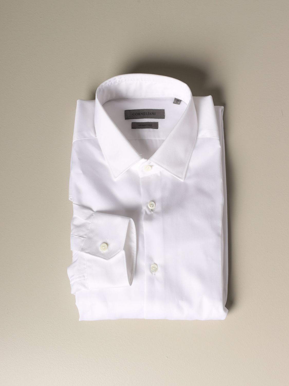 Shirt Corneliani: Corneliani classic shirt white 1