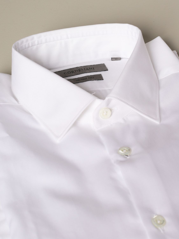 Shirt Corneliani: Corneliani classic shirt white 2