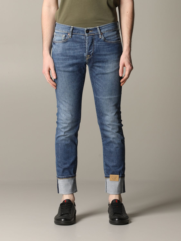Jeans Tela Genova in denim stretch blue 1