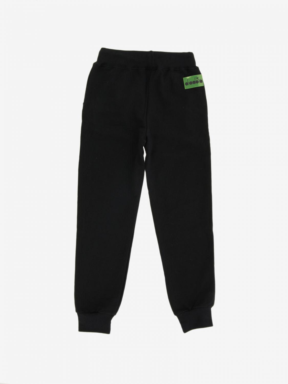 Pants kids Diadora black 2