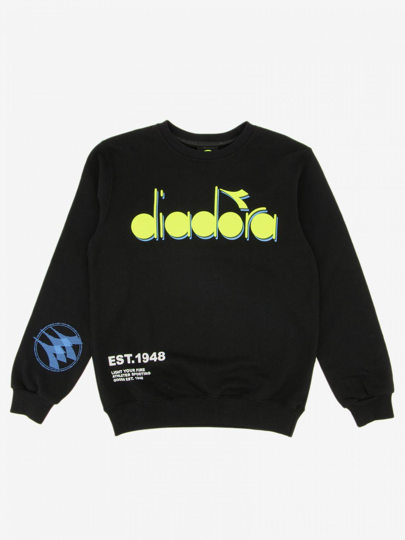 Pullover kinder Diadora schwarz 1