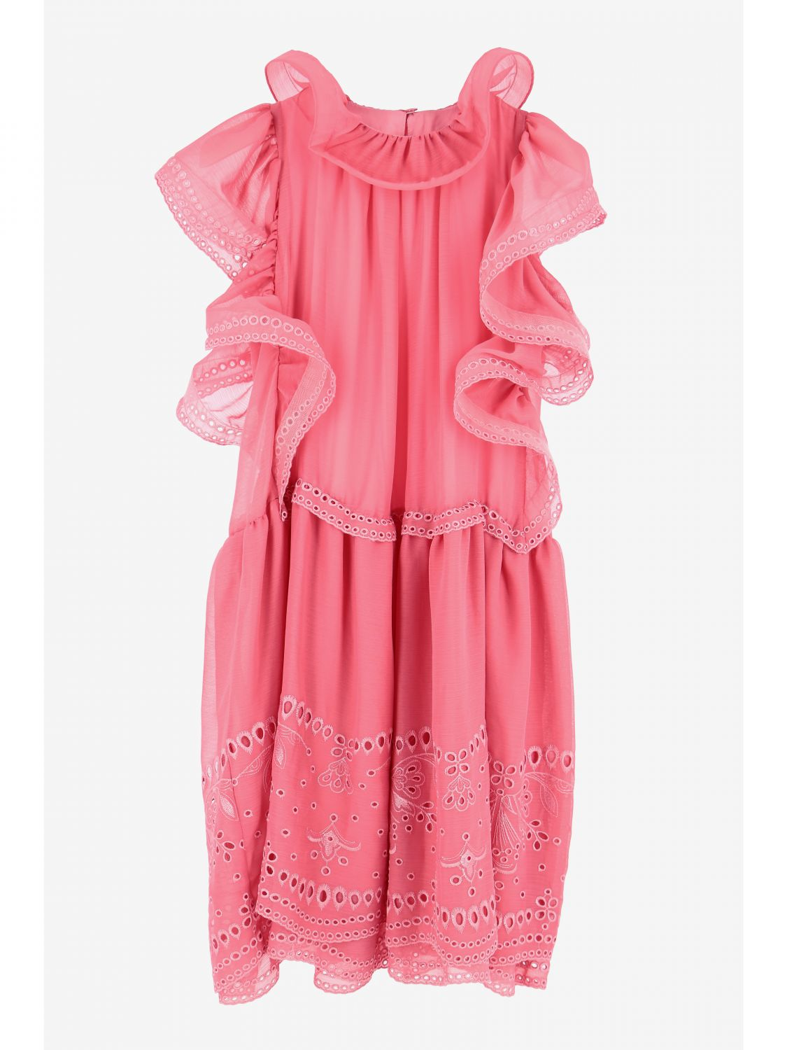 连衣裙 Alberta Ferretti Junior: 连衣裙 儿童 Alberta Ferretti Junior 黑色 1
