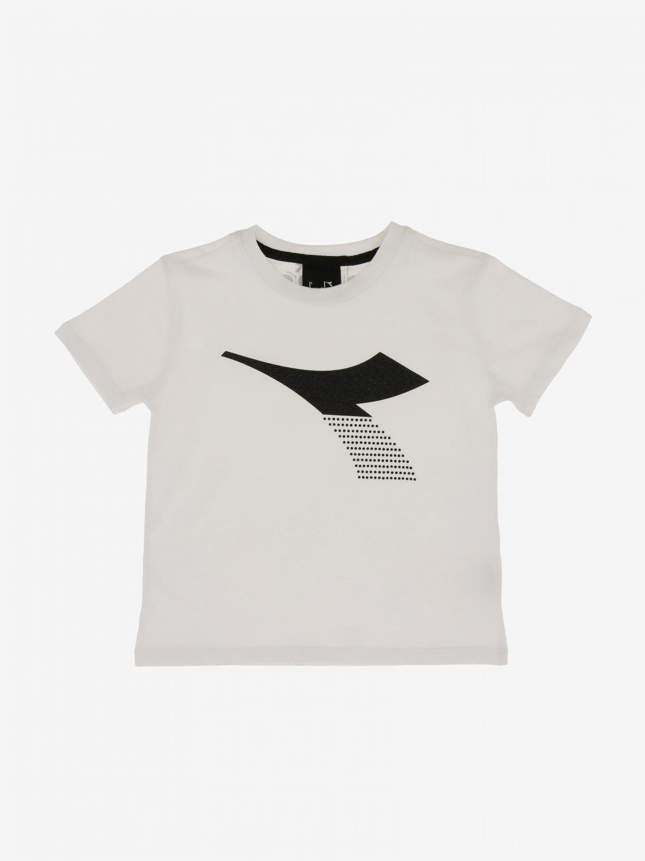 T-shirt Diadora: T-shirt Diadora a maniche corte con logo bianco 1