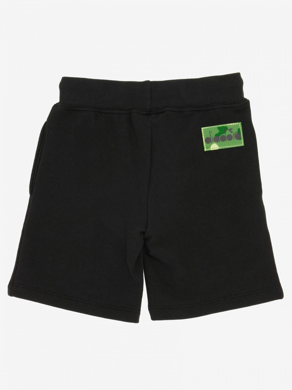 Pantaloncino Diadora: Pantaloncino jogging Diadora con logo nero 2