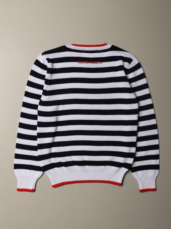 Sweater Alberta Ferretti Junior: Sweater kids Alberta Ferretti Junior white 2