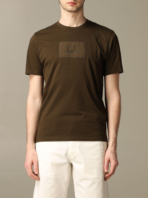 T-shirt C.p. Company: T-shirt men C.p. Company green 1