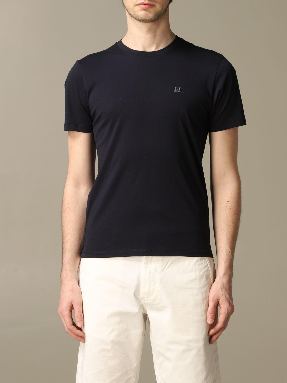 T-shirt C.p. Company: T-shirt men C.p. Company blue 1