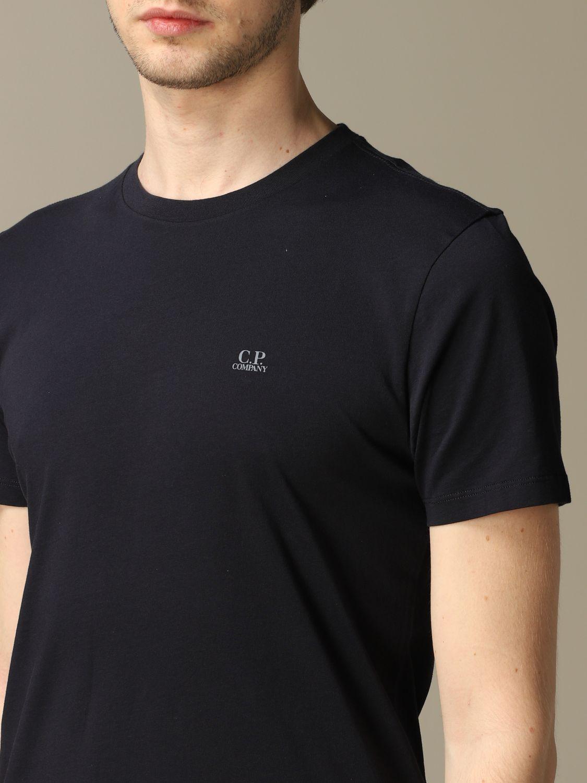 T-shirt C.p. Company: T-shirt men C.p. Company blue 3