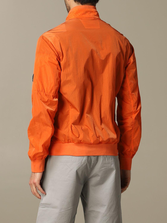 Giubbotto sportivo C.p. Company con zip arancione 2