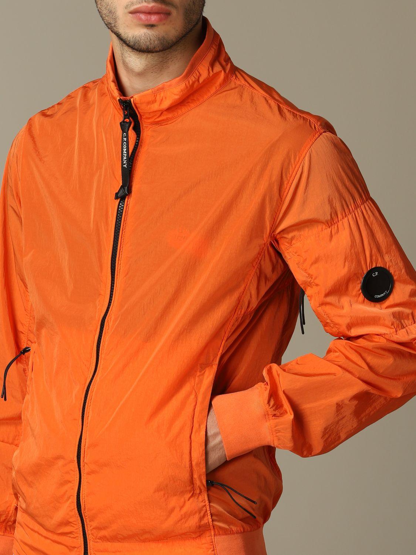 Giubbotto sportivo C.p. Company con zip arancione 3