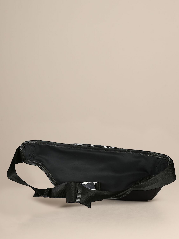Kenzo canvas belt bag with logo black 2