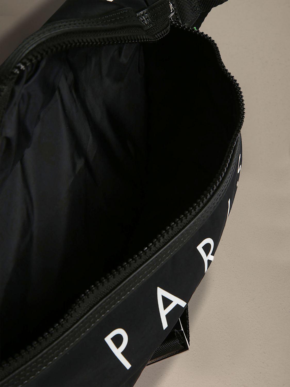 Kenzo canvas belt bag with logo black 3