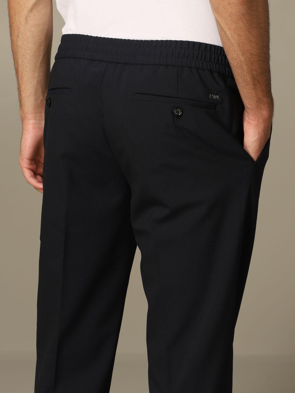 Pantalon Homme Emporio Armani Pantalon Emporio Armani Homme Bleu Pantalon Emporio Armani 3h1pl6 1njwz Giglio Fr