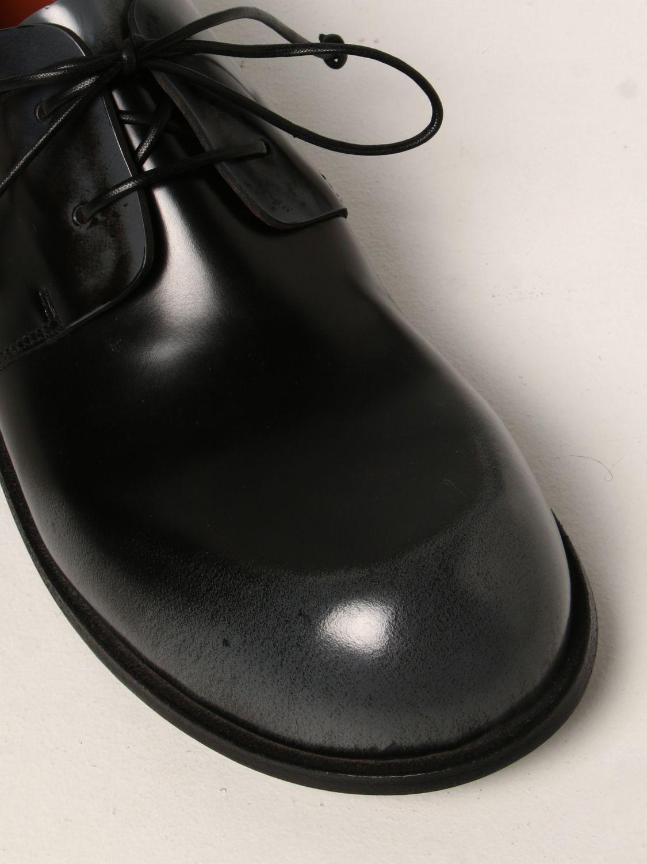 Scarpe stringate Marsell: Derby Muso Marsèll in pelle abrasivata nero 4