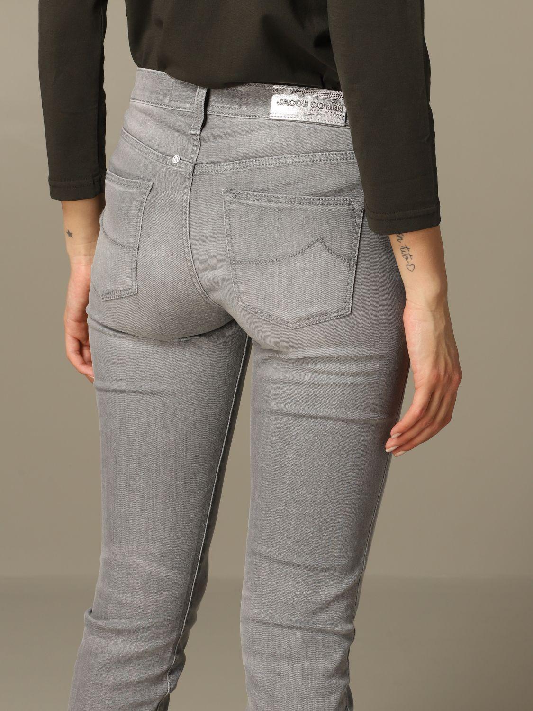 牛仔裤 女士 Jacob Cohen 灰色 3