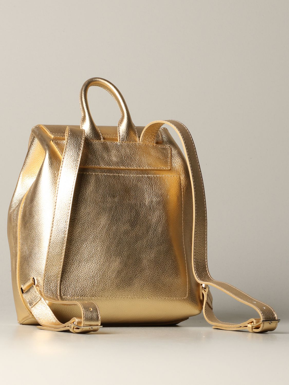 Backpack women Patrizia Pepe gold 2