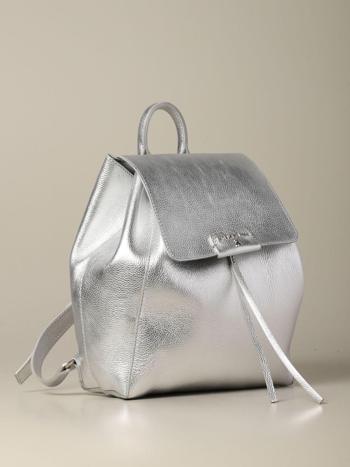 Backpack women Patrizia Pepe silver 3