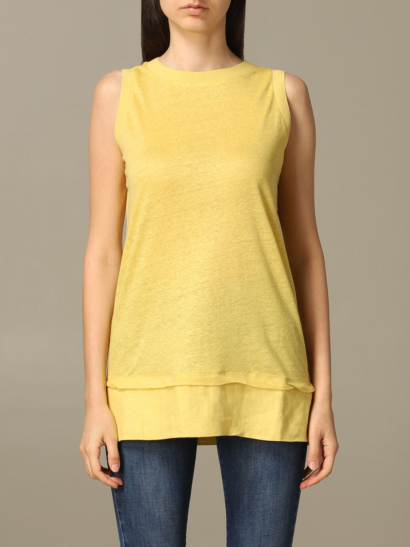 T-shirt Alpha Studio: Pull femme Alpha Studio lime 1