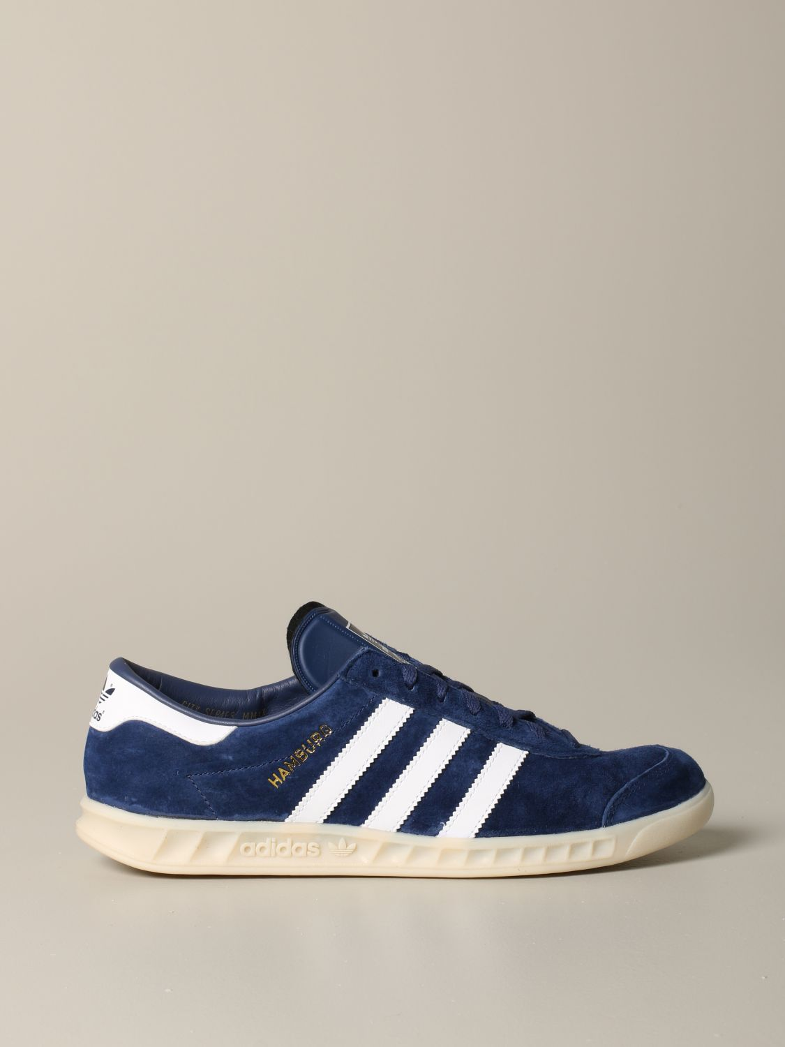 Sneakers Adidas Originals: Adidas Originals sneakers in suede with leather contrasts blue 1