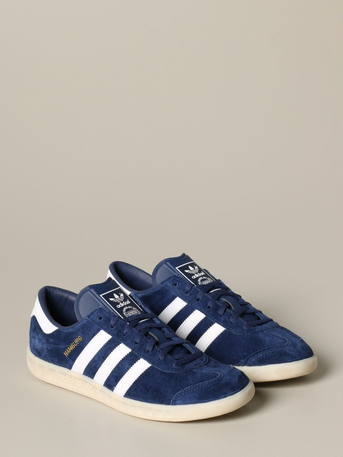 Sneakers Adidas Originals: Adidas Originals sneakers in suede with leather contrasts blue 2
