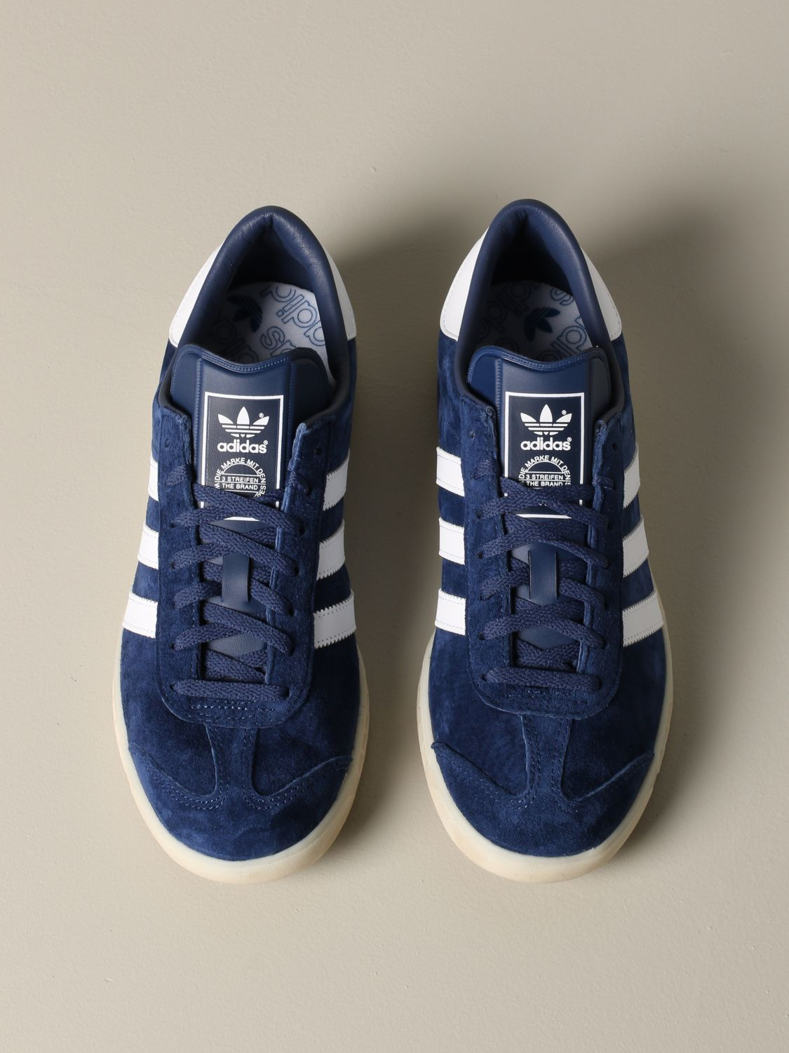 Sneakers Adidas Originals: Adidas Originals sneakers in suede with leather contrasts blue 3