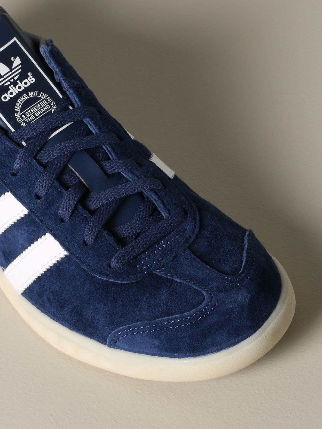 Sneakers Adidas Originals: Adidas Originals sneakers in suede with leather contrasts blue 4