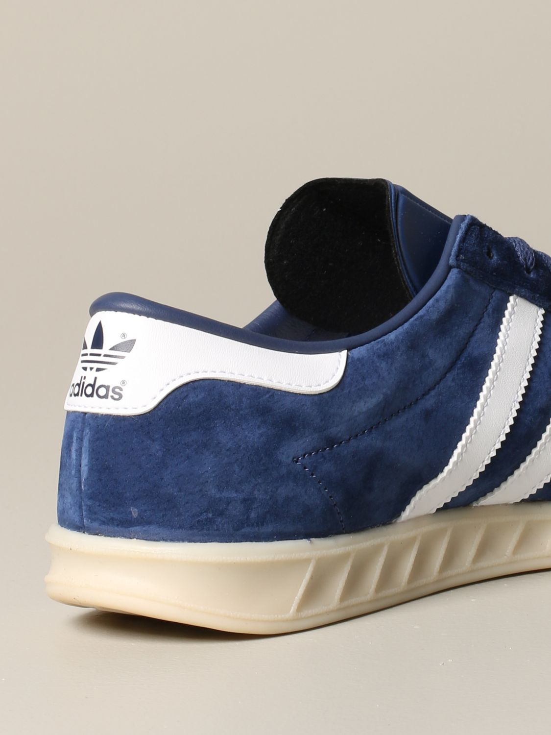 Sneakers Adidas Originals: Adidas Originals sneakers in suede with leather contrasts blue 5
