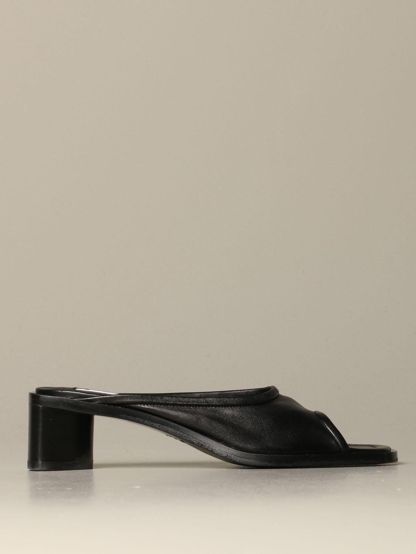 Обувь без каблука Женское Acne Studios черный 1