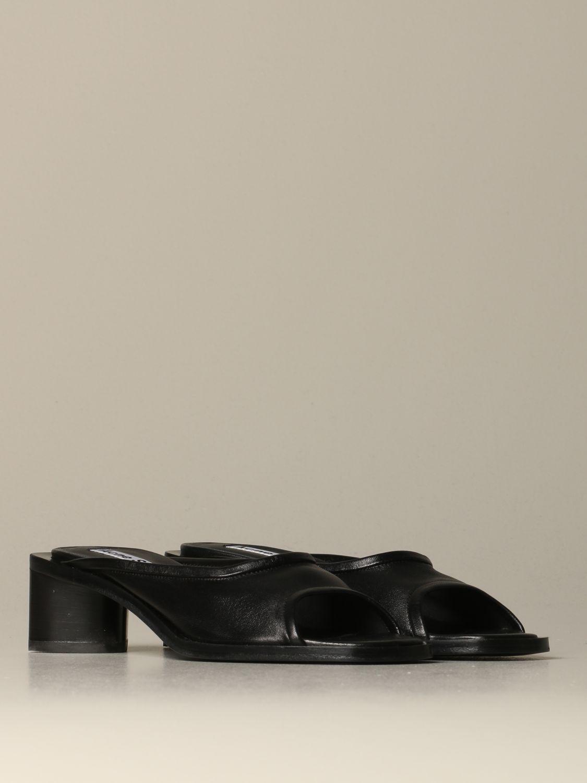 Обувь без каблука Женское Acne Studios черный 2