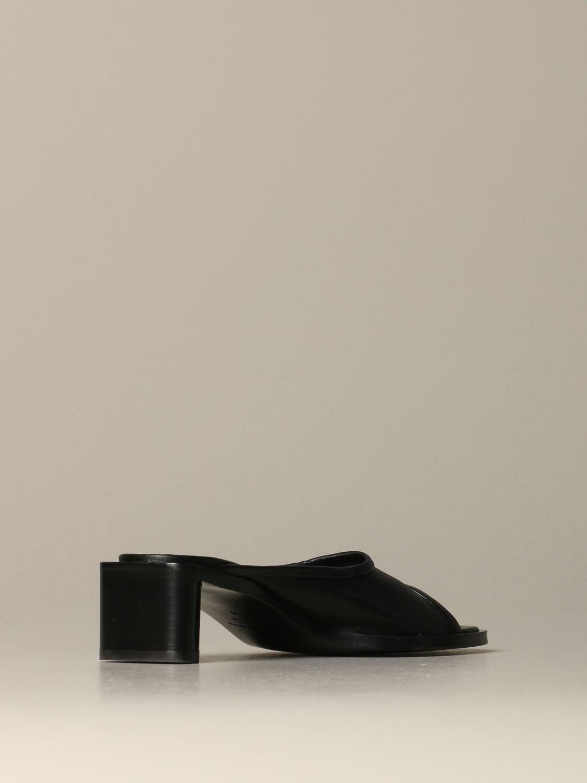 Обувь без каблука Женское Acne Studios черный 3